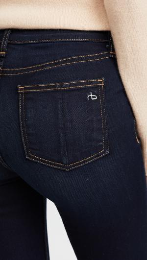 High Rise Skinny Jeans Rag & Bone/JEAN