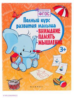 Полный курс развития малыша: внимание, память, мышление Феникс-Премьер. Цвет: белый