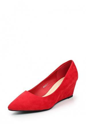 Туфли Tulipano. Цвет: красный