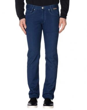 Повседневные брюки BETWOIN. Цвет: темно-синий