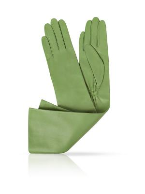 Перчатки MICHEL KATANA`. Цвет: зеленый