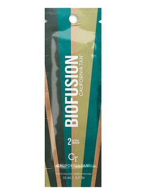 Крем для загара в солярии Biofusion Natural Bronzer Step 2 (15 мл) California Tan. Цвет: бежевый