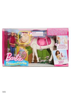 Кукла и лошадь мечты Barbie. Цвет: синий