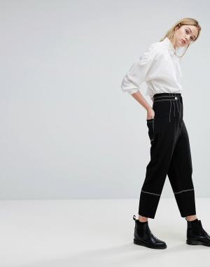 SPORTMAX CODE Укороченные брюки Xiria. Цвет: черный