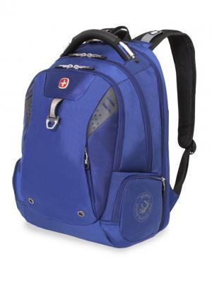 Рюкзак WENGER. Цвет: синий