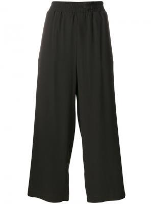 Укороченные строгие брюки  IM Isola Marras I'M. Цвет: зелёный