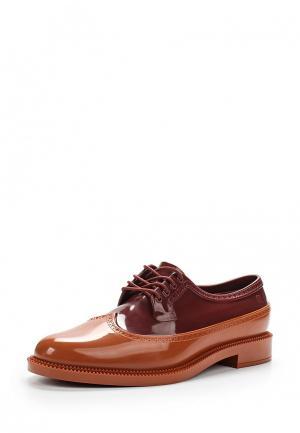 Резиновые ботинки Melissa. Цвет: разноцветный