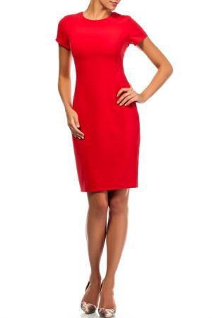 Платье Moe. Цвет: красный