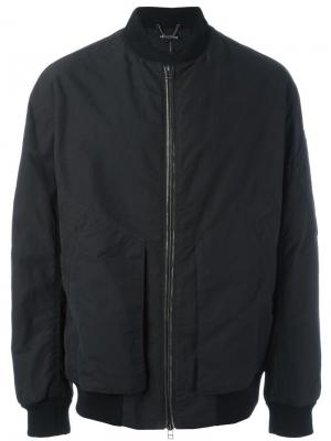 Куртка-бомбер Helmut Lang. Цвет: чёрный