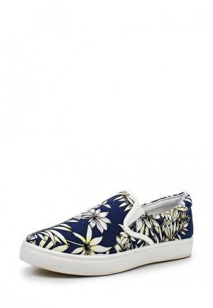 Слипоны WS Shoes. Цвет: разноцветный