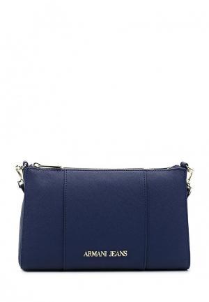 Сумка Armani Jeans. Цвет: синий