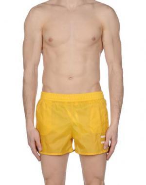 Шорты для плавания I-AM. Цвет: желтый