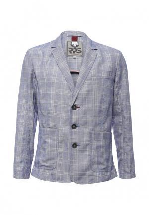 Пиджак RPS. Цвет: голубой