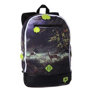 Рюкзак городской  Forest TrueSpin. Цвет: фиолетовый,желтый,черный