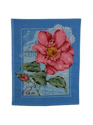 Набор кухонных полотенец Римейн. Цвет: зеленый, голубой, розовый