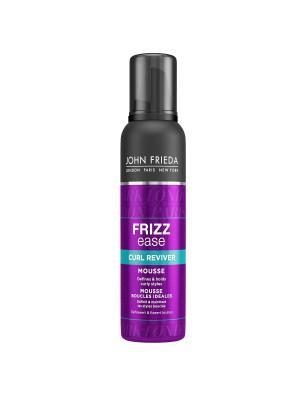 Мусс для создания идеальных локонов Frizz Ease, 200 мл John Frieda. Цвет: белый