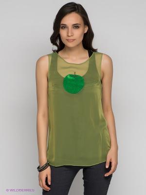 Топ DOCTOR E. Цвет: зеленый