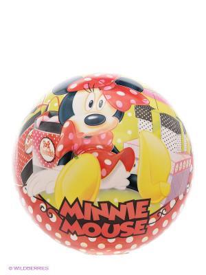 Мяч Минни John. Цвет: красный, желтый