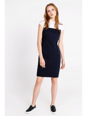 Платье Concept Club. Цвет: темно-синий