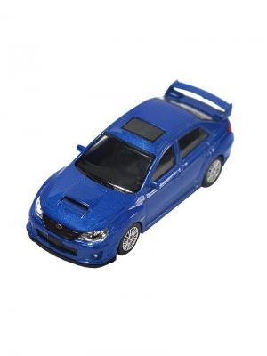 Машинка Subaru WRX STI, Синяя (1:43) (PS-444006-B) Pit Stop. Цвет: синий