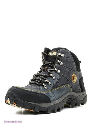 Спортивные ботинки WOODLAND. Цвет: темно-синий
