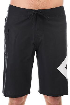 Шорты пляжные DC Lanai 22 Black Shoes. Цвет: ,черный,белый
