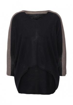 Пуловер Firkant. Цвет: черный