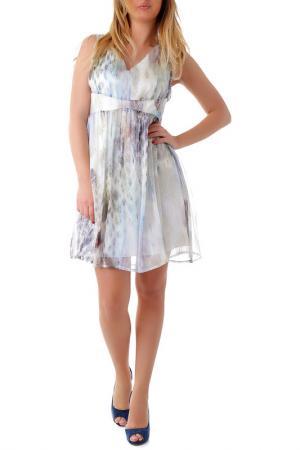 Платье Cristina Gavioli. Цвет: мультицвет
