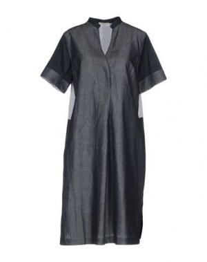 Короткое платье ROSSO35. Цвет: синий