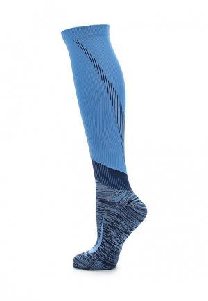 Гетры Nike. Цвет: голубой