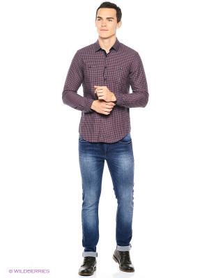 Рубашка Reserved. Цвет: бордовый, коралловый