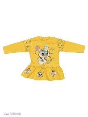 Платье STEPHANIE. Цвет: желтый