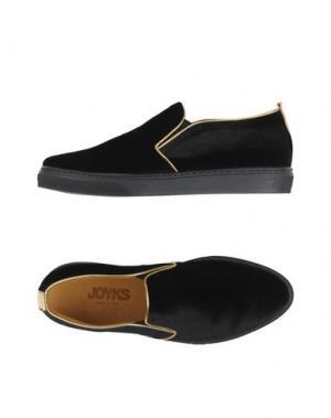Низкие кеды и кроссовки JOYKS. Цвет: черный