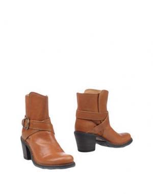 Полусапоги и высокие ботинки FIORENTINI+BAKER. Цвет: желто-коричневый