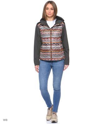 Куртка Stayer. Цвет: серый, рыжий, бежевый