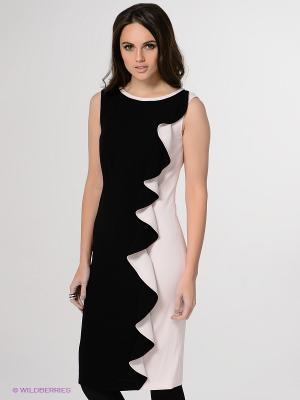 Платье Basler. Цвет: черный, бледно-розовый