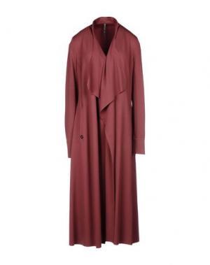 Легкое пальто MANILA GRACE. Цвет: красно-коричневый