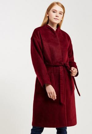 Пальто Concept Club. Цвет: бордовый