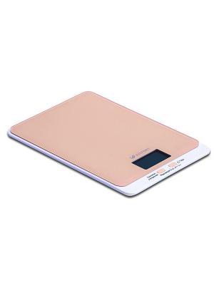 Весы кухонные КТ-803-3 коричневые Kitfort. Цвет: коричневый