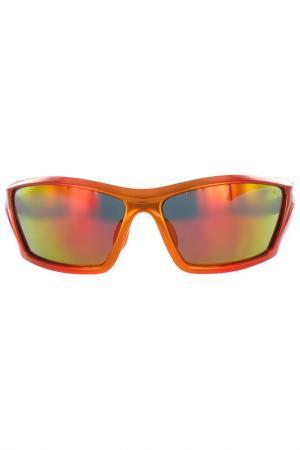 Очки солнцезащитные Puma. Цвет: оранжевый