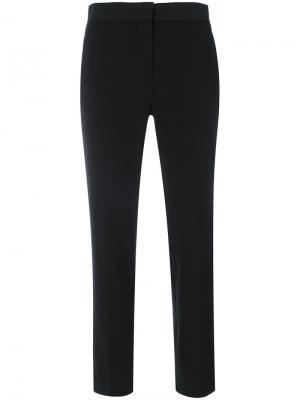 Укороченные брюки Moncler. Цвет: чёрный