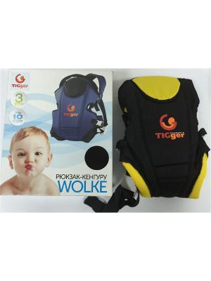 Рюкзак для переноски детей WOLKE TIGger. Цвет: черный