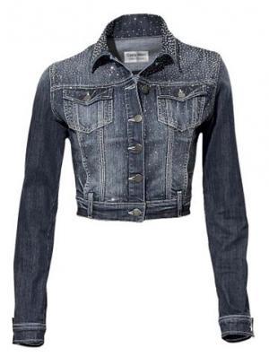Джинсовая куртка CARRY ALLEN. Цвет: синий деним