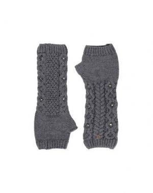 Перчатки VDP CLUB. Цвет: серый