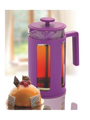 Чайник заварочный 1,0 Л Augustin Welz. Цвет: фиолетовый