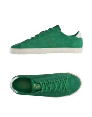 Низкие кеды и кроссовки JIM RICKEY. Цвет: зеленый