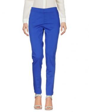 Повседневные брюки CRISTINAEFFE. Цвет: ярко-синий