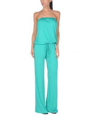 Пляжное платье DELFINA. Цвет: зеленый