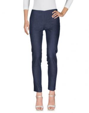 Джинсовые брюки SCOOTERPLUS. Цвет: синий