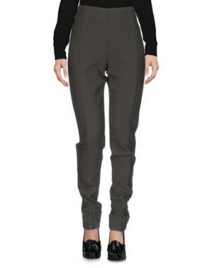 Повседневные брюки TER ET BANTINE. Цвет: темно-зеленый